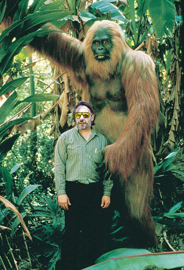 cole and giant ape
