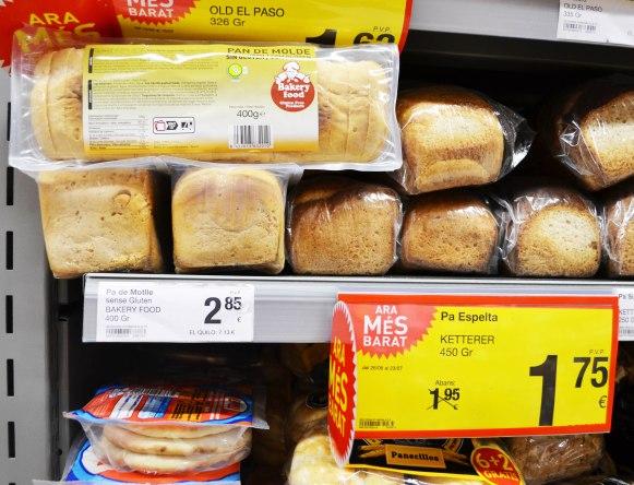 consum bread